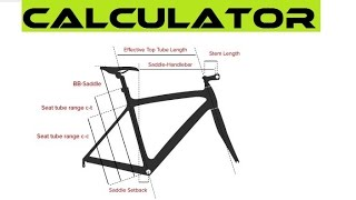 Best Online Bike Fit Calculator - How To Choose The Right Bicycle Frame Size.(, 2016-06-01T11:08:39.000Z)