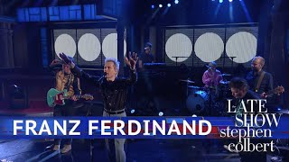 Franz Ferdinand Performs 'Feel The Love Go' thumbnail