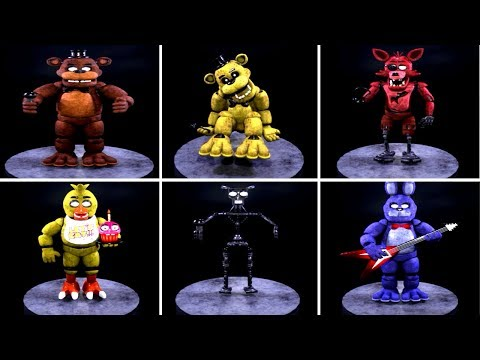 Five Nights at Freddy's 2018 Remake EXTRAS