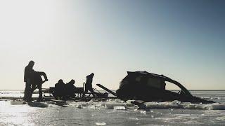 Зимняя рыбалка на Ладоге Улов Subaru Forester