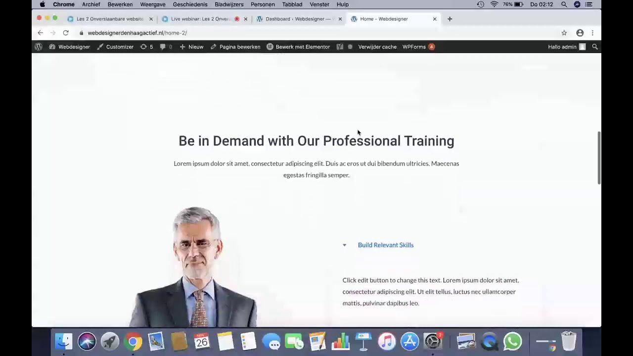 Webdesign bureau Den Haag