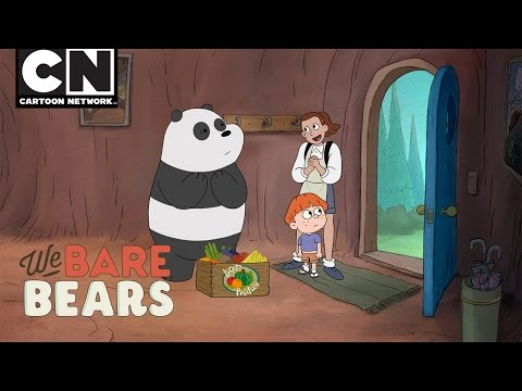 We Bare Bears | Panda Daycare | Cartoon...
