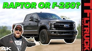 Why Buy The Wimpy Raptor When You Can Buy a Ford Diesel Super Duty For The Same Money?