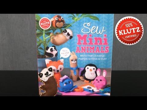 Sew Mini Animals from Klutz