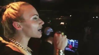 VISA VIE rappt KING von KOLLEGAH Live | #BESTEdeutschRap Karaoke
