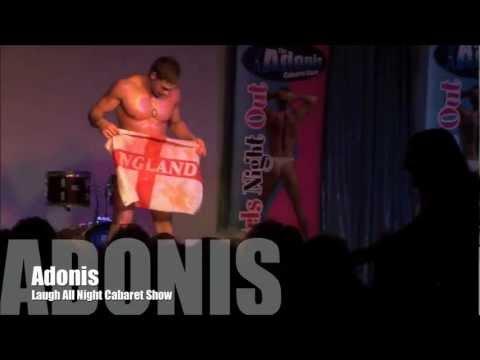 Kieran Hayler strip show - Adonis Cabaret