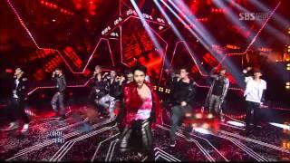 [HD] 120520 EXO (EXO-K&EXO-M)  - MAMA | Inkigayo LIVE