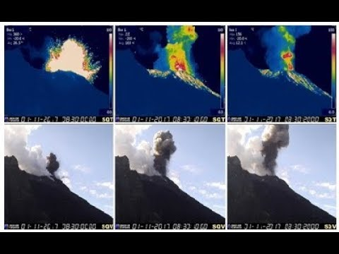 GSM Update 11/2/17 - New Explosion At Stromboli Volcano - Record Snow - New Zealand Food Shortage