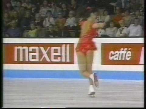 Kristi Yamaguchi USA  1991 World Figure Skating Championships, Ladies' Free Skate