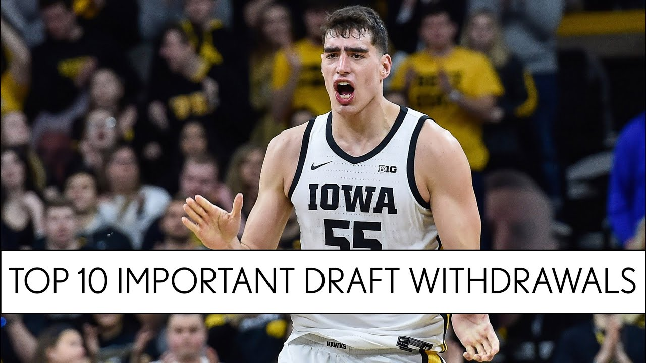 College basketball's 10 most important NBA Draft withdrawals for 2020-21