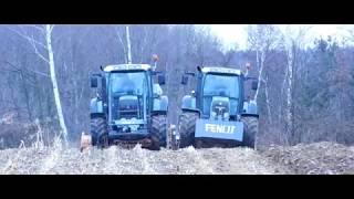 █▬█ █ ▀█▀ Pierwsza taka akcja w Polsce | Orka i mulczowanie kukurydzy 2018 | 2x Fendt |
