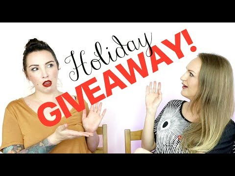 Holiday Giveaway! | BEAUTY NEWS