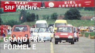 Grand Prix Formel-E in Emmen (1988) | Solarmobile und Elektrofahrzeuge | SRF Archiv