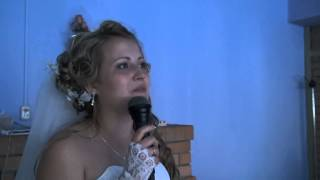 Свадьба видео видеосъемка свадьбы в Волгограде невеста в стихах признается в любви видео StudioK2A