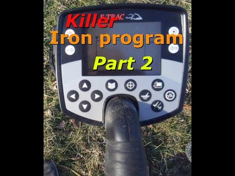 How to set up your Etrac to hunt in iron. Part 2