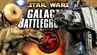FAMBAAS VS AT-ATs en STAR WARS: GALACTIC BATTLEGROUNDS