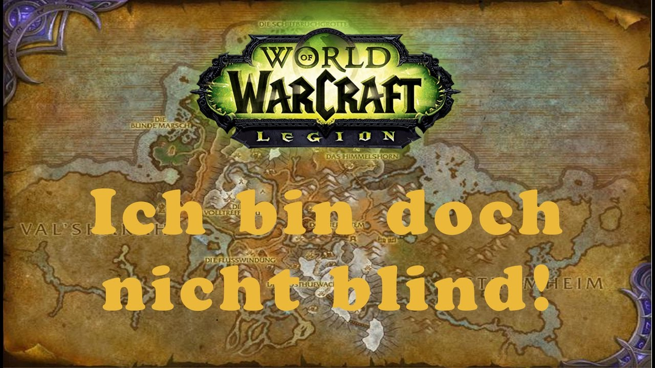 World Of Warcraft Quest Ich Bin Doch Nicht Blind Allianz Youtube