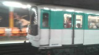 MF67A2 - Ligne 9 RATP - Havre-Caumartin