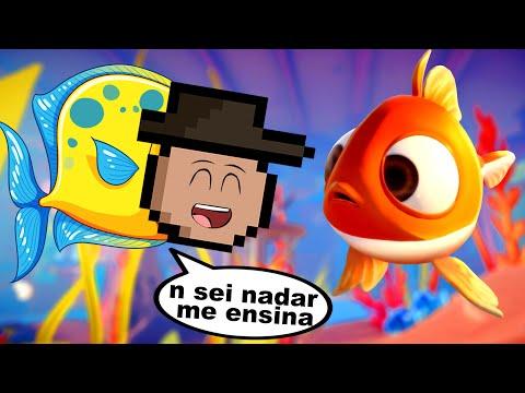 jogo do peixe REAL OFICIAL (I am Fish • E1)