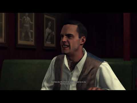 L.A. Noire - Grosvenor McCaffrey (Mensch's Bar) - Wrong Answers And Correct Answers