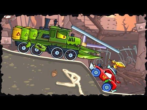 Car Eats Car 2 Deluxe Arena Game Walkthrough Level (1 - 5)