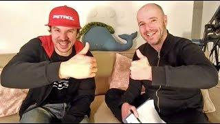 V živo s Simonom Marčičem pred njegovim 4. Dakarjem