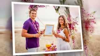 Олег и Поля. Свадебная церемония и фотосессия в Тайланде.