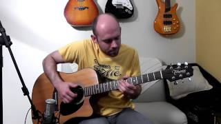 Hit the road Jack (Ray Charles) - Acoustic Guitar Solo Cover (Violão Fingerstyle)