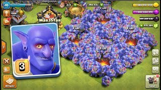 Most Satisfide Max Bowler Attack On COC | New Server Gameplay