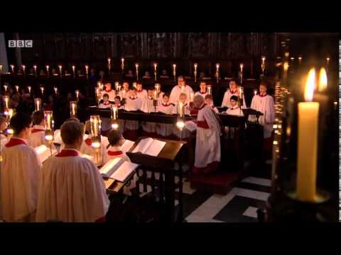 King's College Cambridge 2014  #4 Sussex Carol arr  David Willcocks