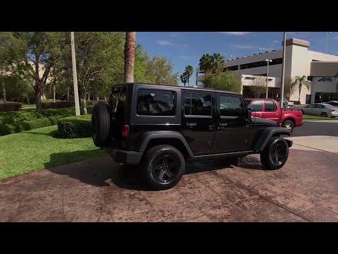 2015 Jeep Wrangler Unlimited Orlando, Hunter's Creek, Kissimmee, Windermere, Davenport, FL G219118A