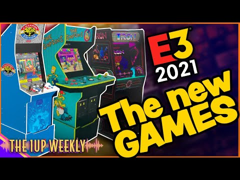 The 1up Weekly - Arcade1up E3 - LETS TALK GAMES! from The1upWeekly