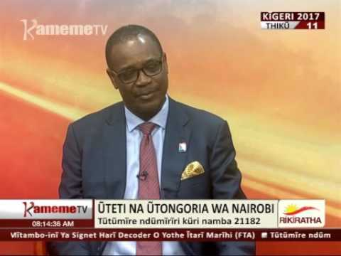 Kurung'a igiri: Ngavana wa Nairobi Dr. Evans Kidero 27.07.2017
