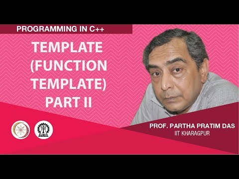Template (Function Template) : Part II