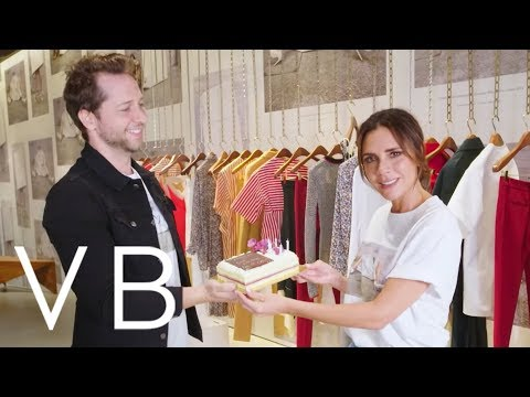 Victoria Beckham's Exclusive YouTube Announcement