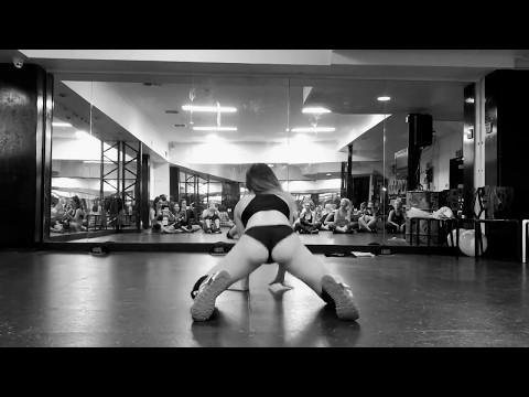 Dj Turn it up  Yellow Claw Twerk freestyle on Brisbane Twerkshop  Kris Moskov aka DHQ KrisMos