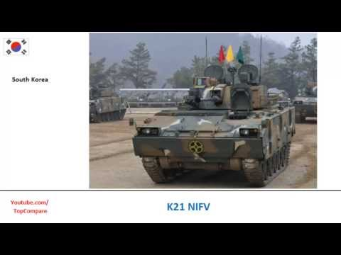 Dardo IFV Vs K21 NIFV, Armoured personnel carrier Key features comparison