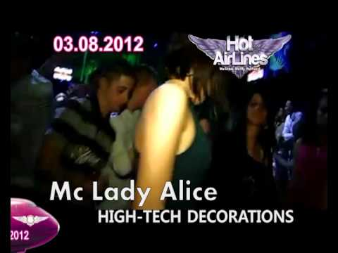 """3. Aug.✈""""Hot AirLines!"""" Special guest: MC Lady Alice (SPB) ! 3.08 @ CatHouse! ✈"""