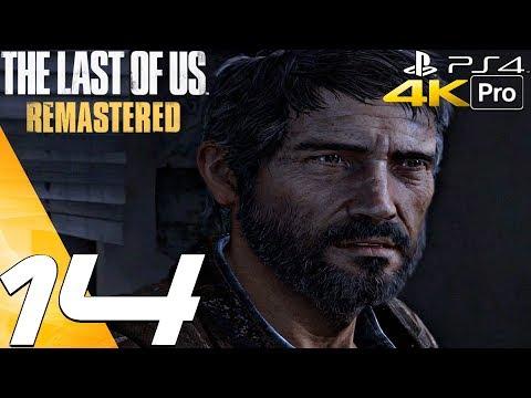 The Last of Us Remastered - Gameplay Walkthrough Part 14 - University & Lab (4K 60FPS) PS4 PRO