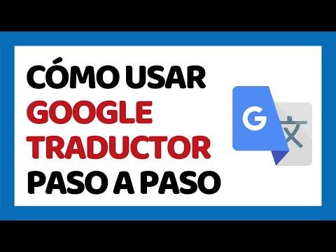 🔴 Cómo Usar Google Traductor 2020