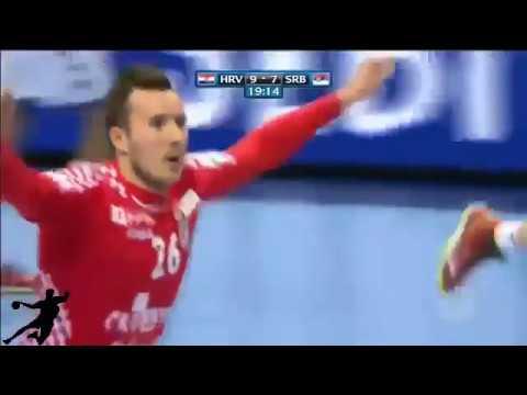 Hrvatska - Srbija | Rukomet EURO 2018 (Best moments)
