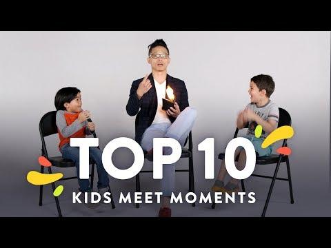Top 10 Kids Meet Moments | Kids Meet | HiHo Kids