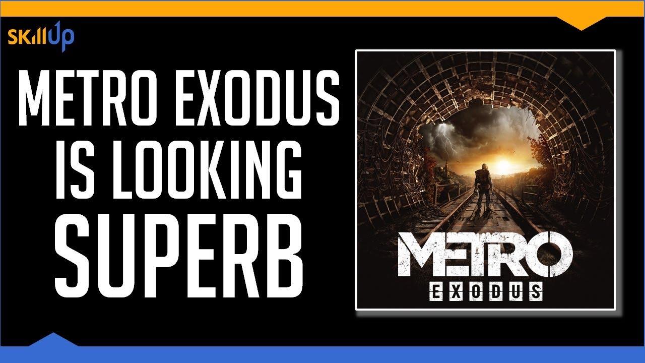 Jugué Metro: Exodus durante 4 horas. Es realmente muy bueno [4k Gameplay] + vídeo