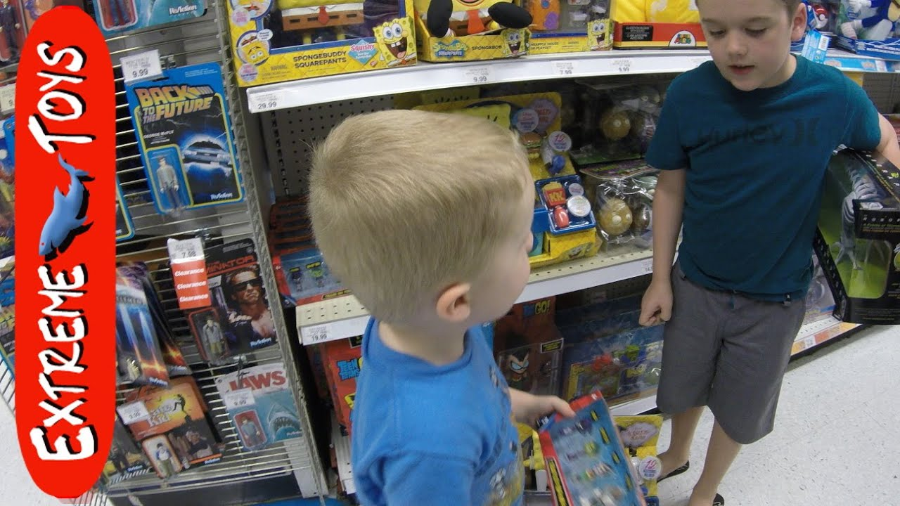 Toys r us adventure and a big koi fish pond youtube for Fishing r us