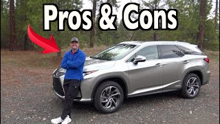 Reasons FOR and AGAINST: 2019 Lexus RX 450hL (Hybrid) on Everyman Driver