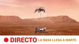 El PERSEVERANCE de la NASA aterriza con ÉXITO en MARTE | RTVE Noticias