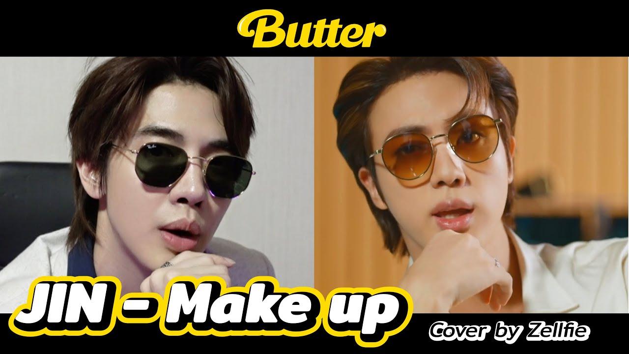 Make up - JIN BTS Butter look พี่จิ๊นนนนนนนนนนนนน [ENG CC] | Zellfie