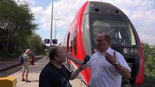 bahn manager VIDEO - REPORTAGE (19): ALSTOM Salzgitter - Dampfloks und Wasserstoffzug (31.8.2019)