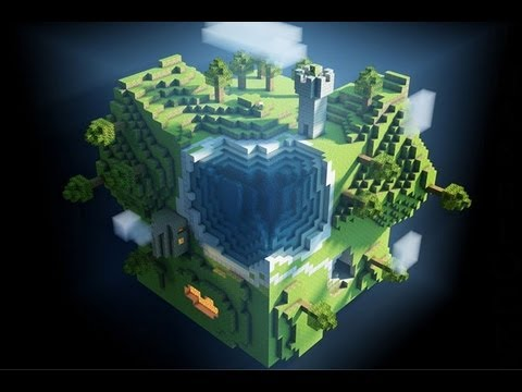 Come importare mondi minecraft su cinema 4d