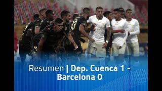 Resumen: Dep. Cuenca 1 - Barcelona 0